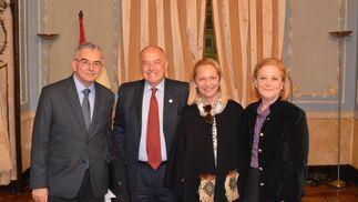 José Joaquín León, Jaime Rocha, Felicidad Rodríguez y Carmen Noya.  Foto: Ignacio Casas de Ciria