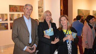 Miguel Ángel de la Fuente, Esperanza Muro y Amparo Bornechea.  Foto: Ignacio Casas de Ciria