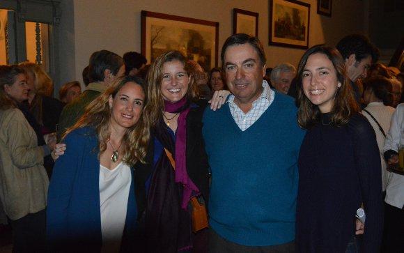 Elisa Domecq, Almudena de Andrés, Gonzalo Domecq  y Miriam Maestre.  Foto: Ignacio Casas de Ciria