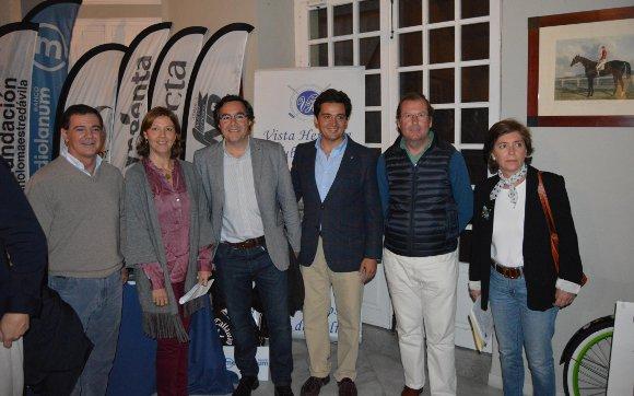 Ignacio Ollero, Koki Davila, Javier Barrios, Baldomero García, Antonio Osborne y Celia Ollero.  Foto: Ignacio Casas de Ciria