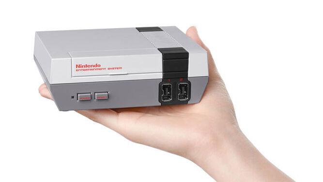 Una imagen de la mini consola.