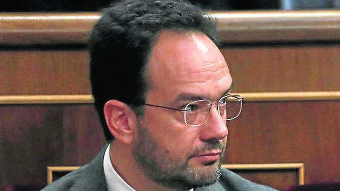 El portavoz socialista en el Congreso, Antonio Hernando.