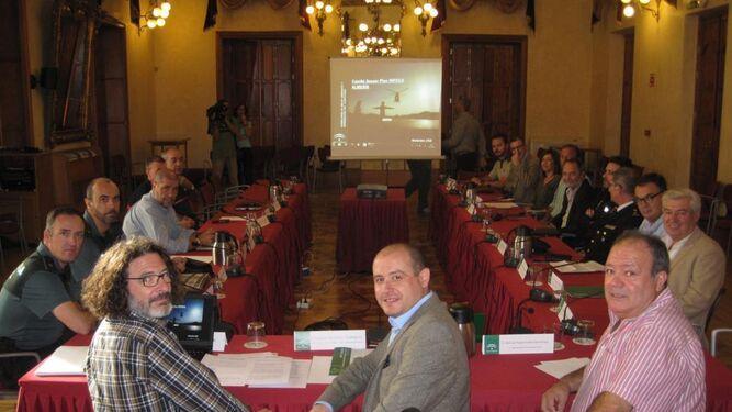 Reunión del comité asesor provincial del Plan Infoca en Almería.