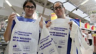 Gran recogida de alimentos en Huelva