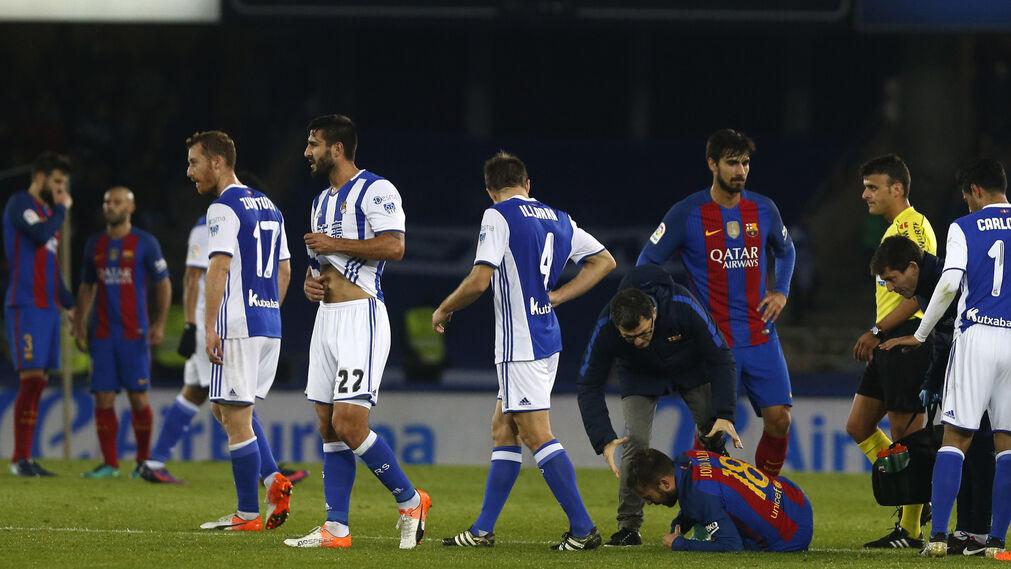 El Real Sociedad-Barcelona