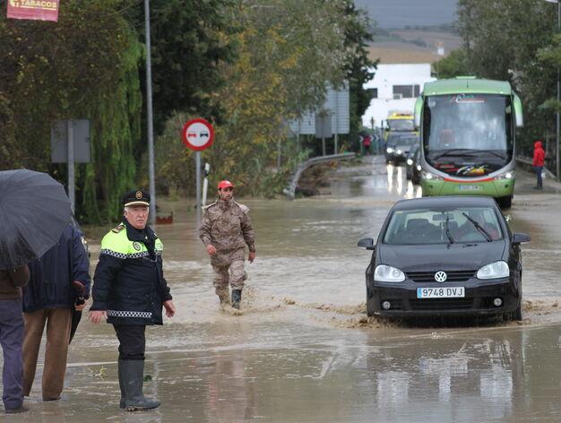 Imágenes del temporal en la provincia de Cádiz