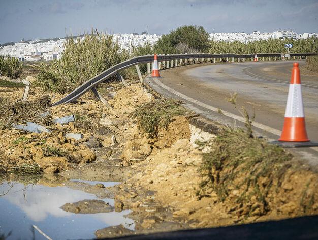 Consecuencias del temporal en Cádiz
