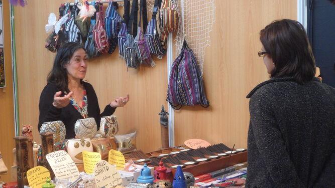 Numerosos productos alimenticios y artesanales están expuestos por empresas de la provincia, del resto de Andalucía, Extremadura y Portugal. La feria está situada en un sitio amplio en favor del público asistente.