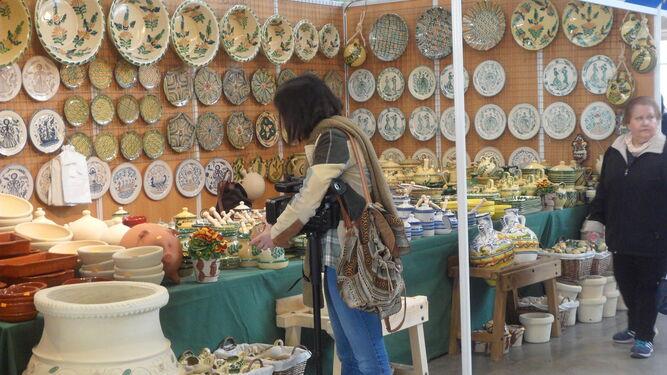 Lo artesano  se muestra en Aracena