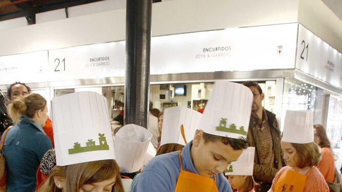 Talleres de cocina para acercar la capitalidad a los onubenses for Taller cocina ninos
