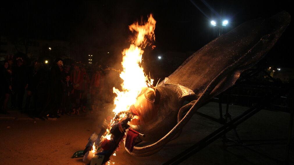 Las imágenes de la quema del Choco