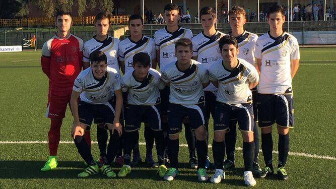 2148db03bf376 La selección de Huelva cadete se estrenó con buen pie en este Andaluz que  se disputa en tierras onubenses.