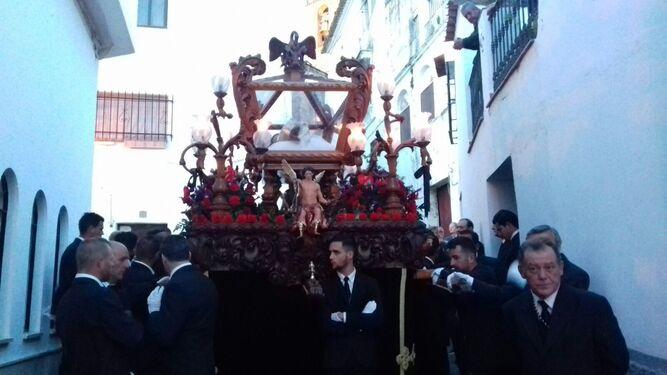 El Cristo del Descendimiento de la localidad onubense de Ayamonte.
