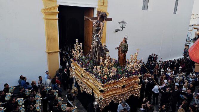 El Cristo de la Sangre de Palos de la Frontera.