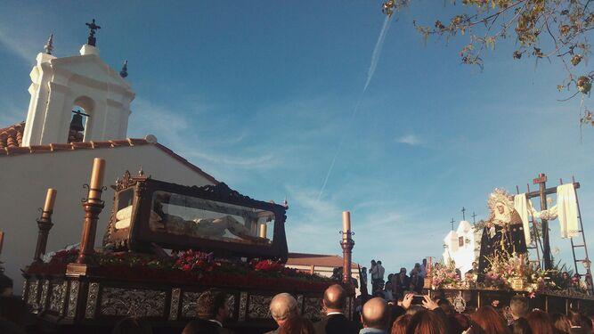 El Cristo yacente de Santa Olalla del Cala.