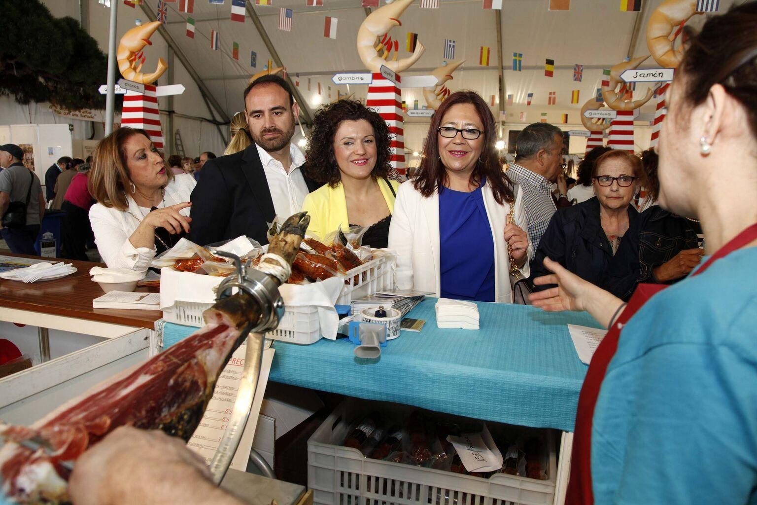 La XXIII Feria de la Gamba espera la asistencia de más de 80.000 ...