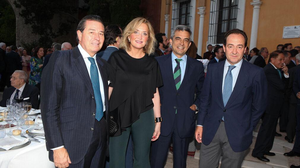 José Pérez Benítez, Miriam Núñez, Nicolás Sierra y Rafael Bravo.