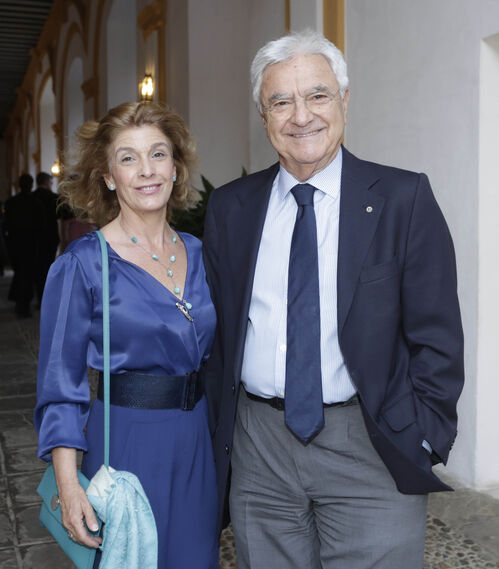María Victoria García-Añoveros y Francisco Baena Bocanegra.