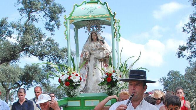 Llevada de la Virgen del Prado.