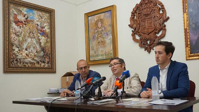 Antonio Mondaca, Juan Ignacio Reales y José Miguel Saavedra.