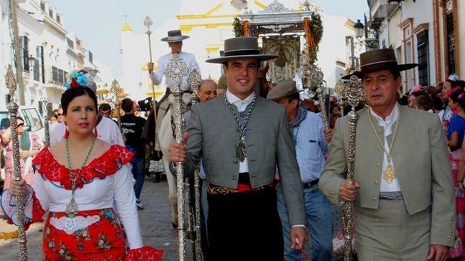 El Simpecado de la Hermandad de Rociana.