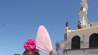 Imágenes de la presentación de hermandades en la Ermita del Rocío.