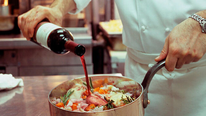 Cocinar con vino for Facil de cocinar