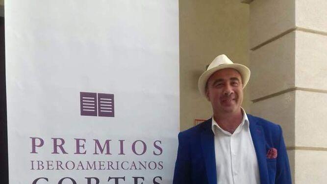 Pulido, ayer, en la Casa de Iberoamérica de Cádiz.