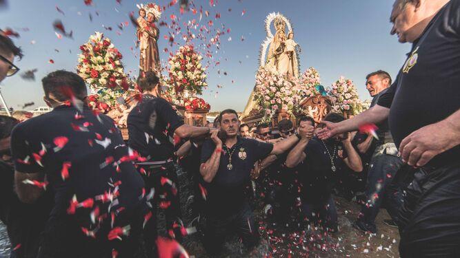 Punta del Moral celebra con brillantez sus fiestas de San Antonio