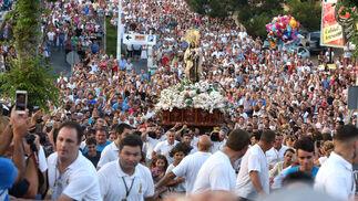 Procesión de la Virgen del Carmen en Punta Umbría