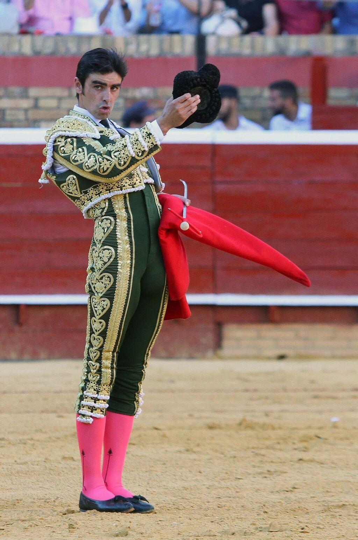 Resultado de imagen de Miguel Ángel Perera en las colombinas de Huelva.