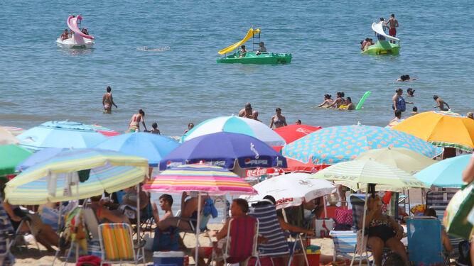Lleno en las playas del litoral onubense