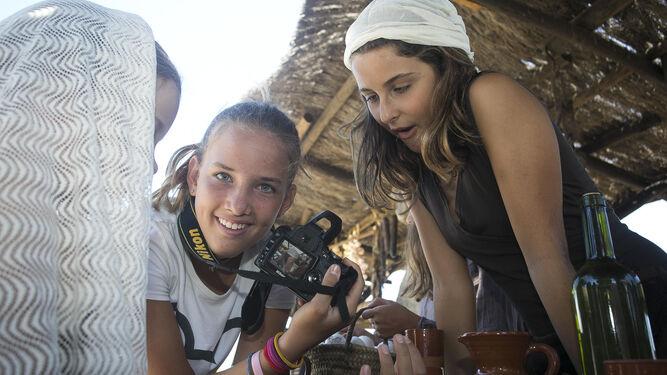 Pequeños aprendices de fotógrafo