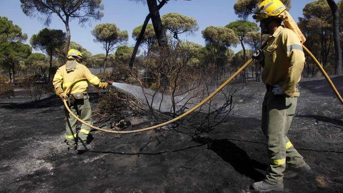 Desolación en Las Cumbres tras el fuego