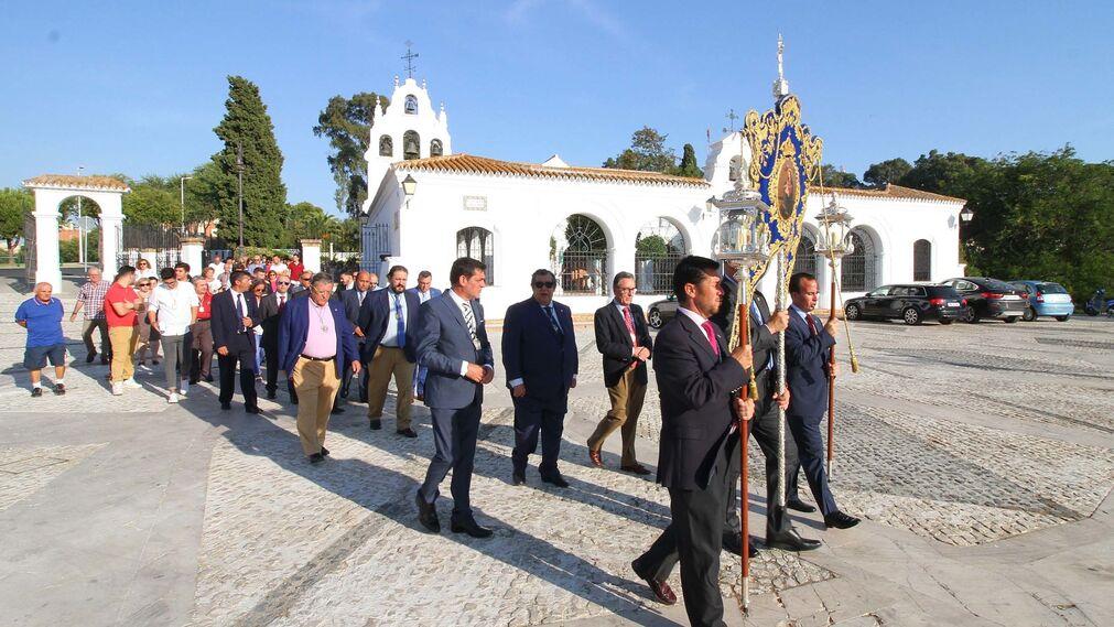 Imágenes de los actos previos a la procesión de la Virgen de La Cinta.