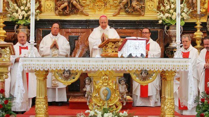 Almonte celebra un Rocío Chico cargado de fe
