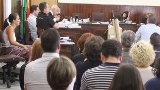 Imágenes del juicio por el doble crimen de Almonte