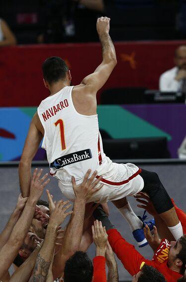 Las imágenes del España-Rusia del Eurobasket