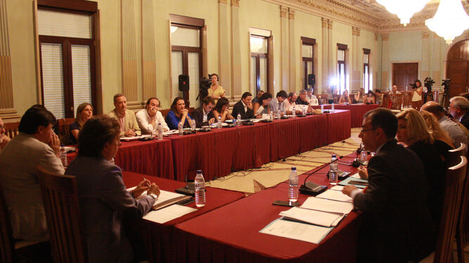 Sesión plenaria del pasado 1 de septiembre de 2016 en la que se aprobaron las cuentas municipales para el pasado ejercicio.