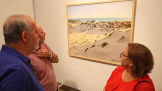 Imágenes de la exposición colectiva 'El Arte y la Paz', en la Diputación.