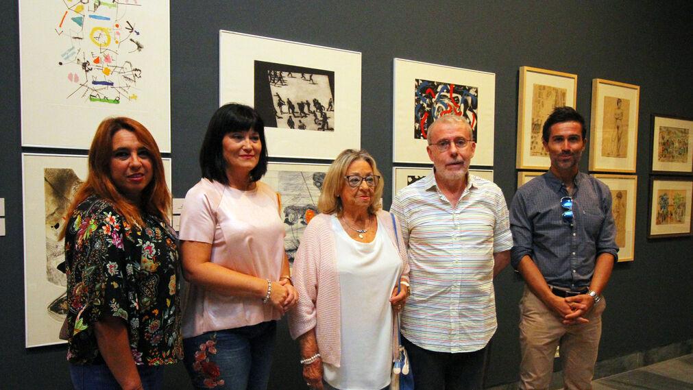 Imágenes de la exposición 'Fondos de Papel', en el Museo.