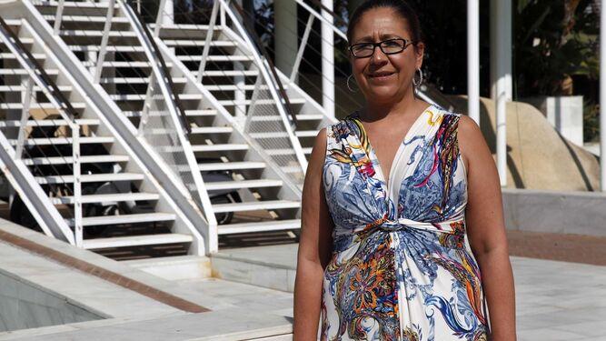 Aurora Águedo, alcaldesa de Punta Umbría.