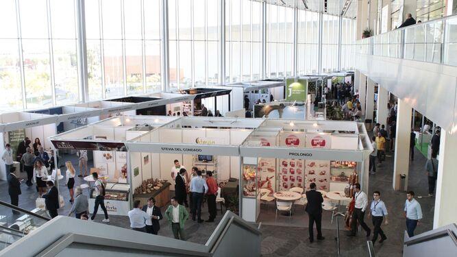 Zona expositiva de la pasada edición del congreso 'Andalucía Sabor'.