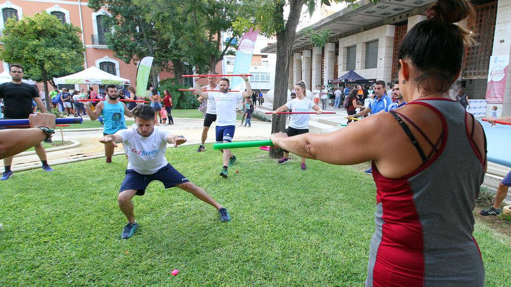 Imágenes de la feria del Deporte, Ocio y Salud.