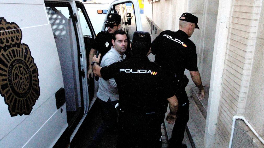 Imágenes de la nueva jornada del juicio del doble homicidio en Almonte.