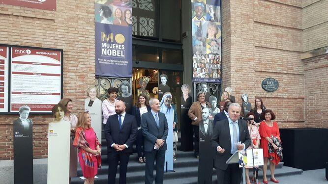 Acto de inauguración de la muestra que puede visitarse en el museo madrileño.