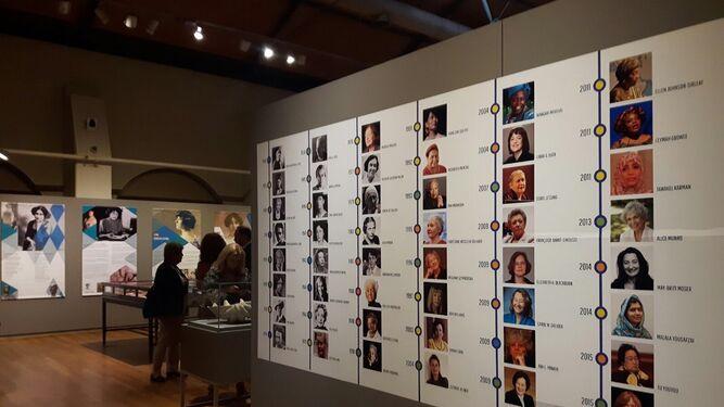 Cronología de algunas de las galardonadas con el Nobel.