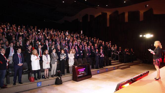 Imagen del público asistente a la última cita de los Premios Management