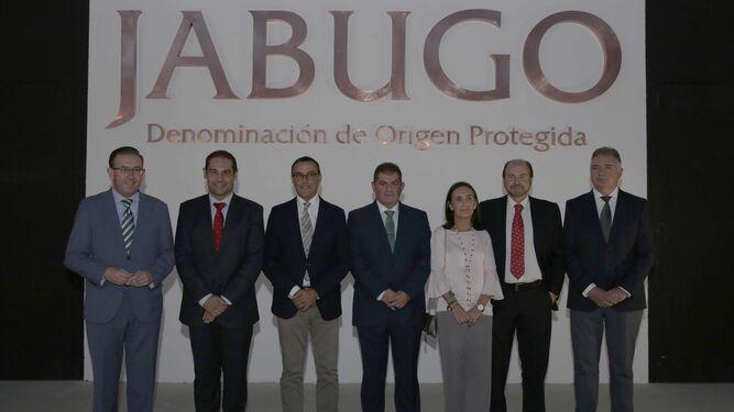 Manuel Guerra, José Luis Ramos, Ignacio Caraballo, Gilberto Domínguez, Asunción Grávalos, Guillermo García-Palacios y Francisco José Romero.