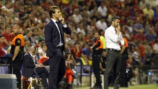 Las imágenes del España-Albania